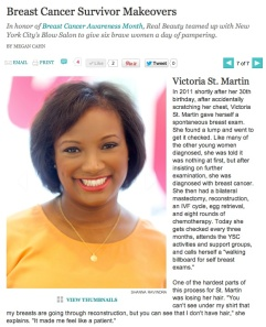 Victoria St. Martin featured on realbeauty.com